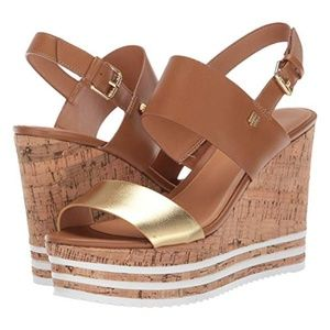 New Tommy Hilfiger Briley Wedge Sandal